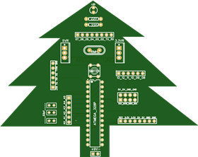 arduino uno r3  chrismas edition