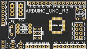 DIY ARDUINO UNO R3 SMD