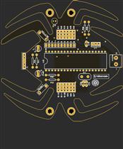 SPIDER ROBOT (HEXABOT) PIC16F877A