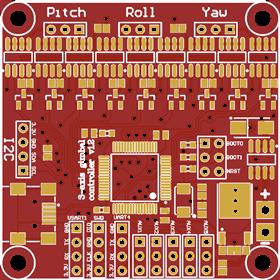 EvvGC BLDC Motor Gimbal Control Board