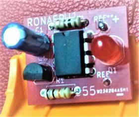 12 V. 555 led strobe...