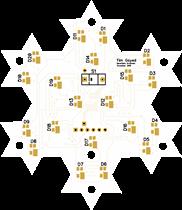 Programmable RGB Snowflake