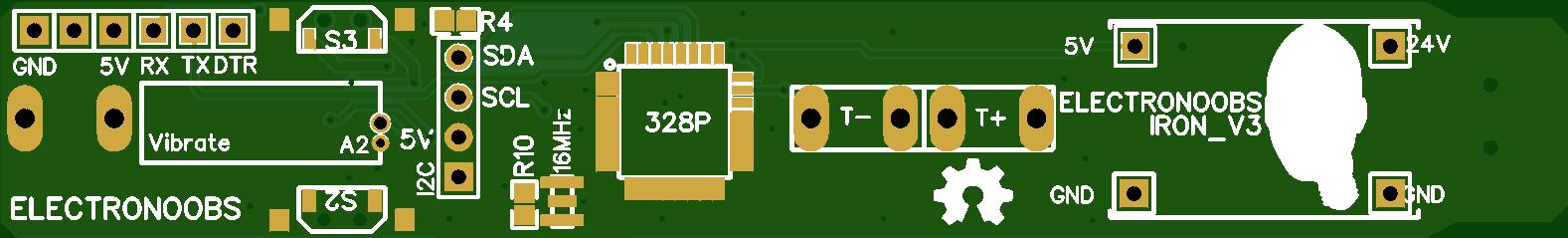 PORTABLE SOLDERING IRON V3 3D case ELECTRONOOBS \ Паяльник