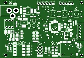 AVR High Voltage-328pb v1.3
