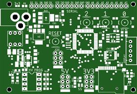 AVR High Voltage-644PA v1.0