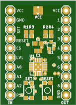 tinyMonster 8 x 3.3/5V relay driver