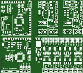 Low Cost Quad-copter (FC, RF receiver, etc.)
