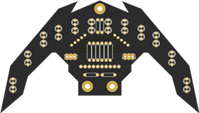 14 array line follower sensor multiplexed switching for uno
