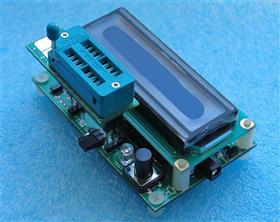 Transistor Tester PCB Rev7.1m328 \ Транзистор тестер радиодеталей Rev7.1m328