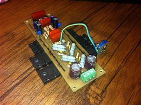 Audio Amplifier LANZAR 1 pair \ Аудио усилитель мощности ЛАНЗАР 1 пара