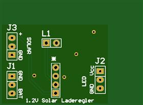 QX5252 Solar LED driver