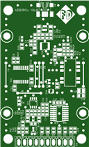USB2RSx - Isolated USB to RS232/RS485/UART TTL Converter
