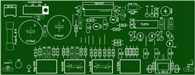 Stereo Amplifier To TDA7377 + Timbre Block + Preamplifier \ Стерео аудио усилитель мощности звука