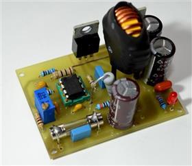 Car inverter from 12V to 19V on UC3845 a laptop \ Автомобильный инвертор для ноутбука