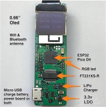 ESP32 Pico D4 Dev Board
