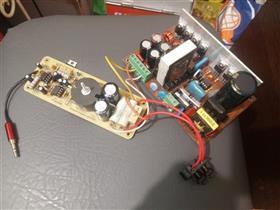 Audio amplifier D-class 400W \ Аудио усилителя мощности звука класса D