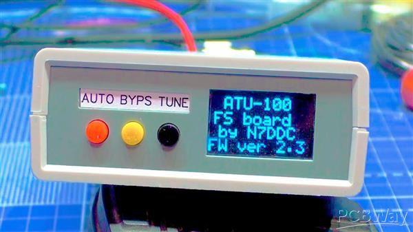 N7DDC ATU100 7x7 mod R2AJI case G760 - Share Project - PCBWay